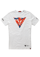 Dainese T-SHIRT FLAG SILVERSTONE