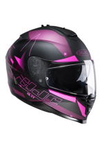 KASK HJC IS-17 ARMADA BLACK/PINK