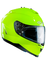 KASK HJC IS-17 SOLID FLUORESCENT GREEN