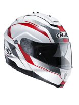 KASK HJC IS-MAX II ELEMENTS WHITE/RED