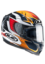 KASK HJC R-PHA10 PLUS ELSWORD ORANGE/RED