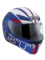 Kask AGV COMPACT MULTI SEATTLE/ BLUE/WHITE/RED