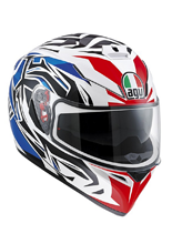Kask AGV K-3 SV / ROOKIE WHITE/BLUE/RED