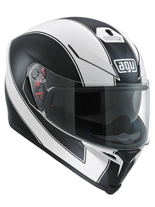 Kask AGV K-5 / ENLACE WHITE/MATT-BLACK