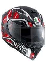 Kask AGV K-5 / HURRICANE BLACK/RED/WHITE