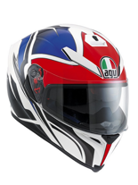 Kask AGV K-5 / ROADRACER WHITE/RED/BLUE