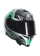 Kask AGV K-5 / TRANSFORMER WHITE/BLACK/GREEN