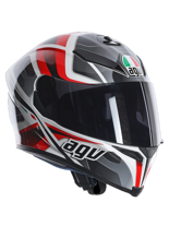 Kask AGV K-5 / TRANSFORMER WHITE/BLACK/RED