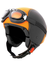 Kask CABERG Century black-orange leather