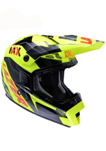 Kask Lazer  MX8 Geopop Pure Glass / Yellow - Black - Red