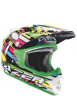 Kask Lazer X6 Junior Comet/ Black - Rainbow