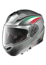 Kask NOLAN N104 ABSOLUTE ITALY N-COM 52 SCRATCHED CHROME
