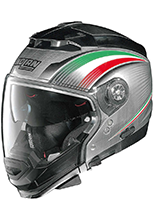 Kask Nolan N44 EVO ITALY N-COM 15 SCRATCHED CHROME