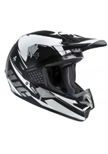 Kask Offroad HJC CS-MX KENTA BLACK/WHITE
