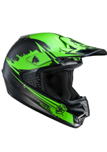 Kask Offroad HJC CS-MX ZEALOT BLACK/GREEN
