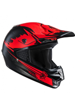 Kask Offroad HJC CS-MX ZEALOT BLACK/RED