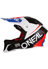 Kask O'neal Seria 10 Flow: blue/red