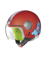 Kask Otwarty GREX G1.1 TEENS RED 5