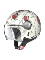 Kask Otwarty Grex DJ1 CITY ARTWORK WHITE 129