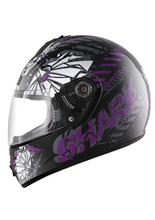 Kask S600 PINLOCK POONKY Black Violet Anthracite