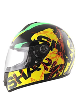 Kask  S600 PINLOCK VOLT Black green yellow