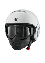 Kask SHARK RAW BLANK White azur