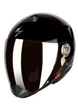 Kask Scorpion Exo-300 Air BLACK POŁYSK