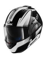 Kask Shark  EVO-ONE ASTOR Black White Anthra