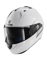 Kask Shark EVO-ONE BLANK White azur