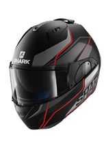 Kask Shark  EVO-ONE KRONO Mat Black Anthracite Red