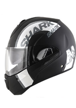 Kask Shark EVOLINE 3 DROP DUAL TOUCH Black Anthrac Silver