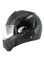Kask Shark EVOLINE 3 DROP Mat Black anthrac white