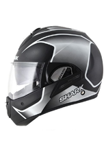 Kask Shark  EVOLINE 3 STARQ Mat Black white black