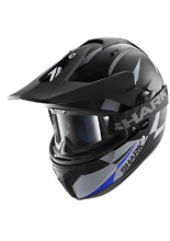 Kask Shark EXPLORE-R CISOR Black Antracite Blue