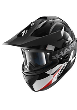 Kask Shark EXPLORE-R CISOR Black white red