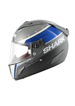 Kask Shark RACE-R Pro Carbon RACE-R PRO CARBON DUAL TOUCH Anthracite Blu White