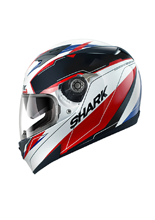 Kask Shark S700 PINLOCK LAB White Black Red