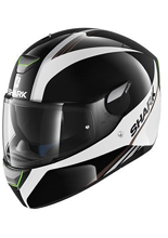 Kask Shark SKWAL SPINAX  Black White Silver