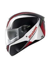 Kask Shark SKWAL SPINAX Black white red