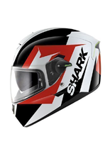 Kask Shark SKWAL STICKING White Black Red