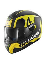 Kask Shark SKWAL TRION Mat Black Yellow Yellow