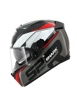Kask Shark SPEED-R 2 SAUER Black Anthracite Red