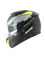 Kask Shark SPEED-R 2 SAUER Mat Black Yellow Black