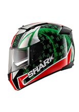 Kask Shark SPEED-R 2 SYKES Black Red Green