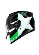 Kask Shark SPEED-R 2 TEXAS Black White Green