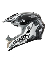 Kask Shark SX2 WACKEN Black White Anthracite