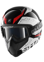 Kask Shark VANCORE BRACO Black white red