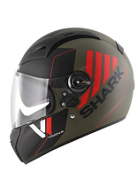 Kask Shark VISION R 2 CARTNEY Mat Green Black Red