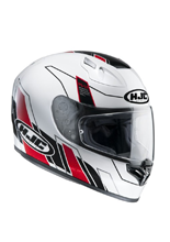 Kask integralny HJC FG-17 ZODD WHITE/RED