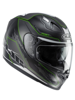Kask integralny HJC FG-ST BESTY BLACK/WHITE/GREEN